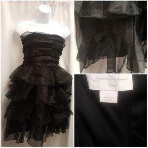 Women's Tiered Strapless Dress